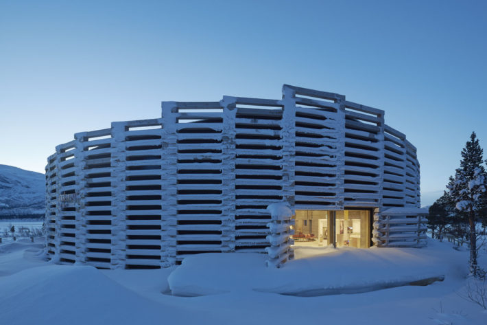 Naturum Laponia, Wingårdhs Arkitekter